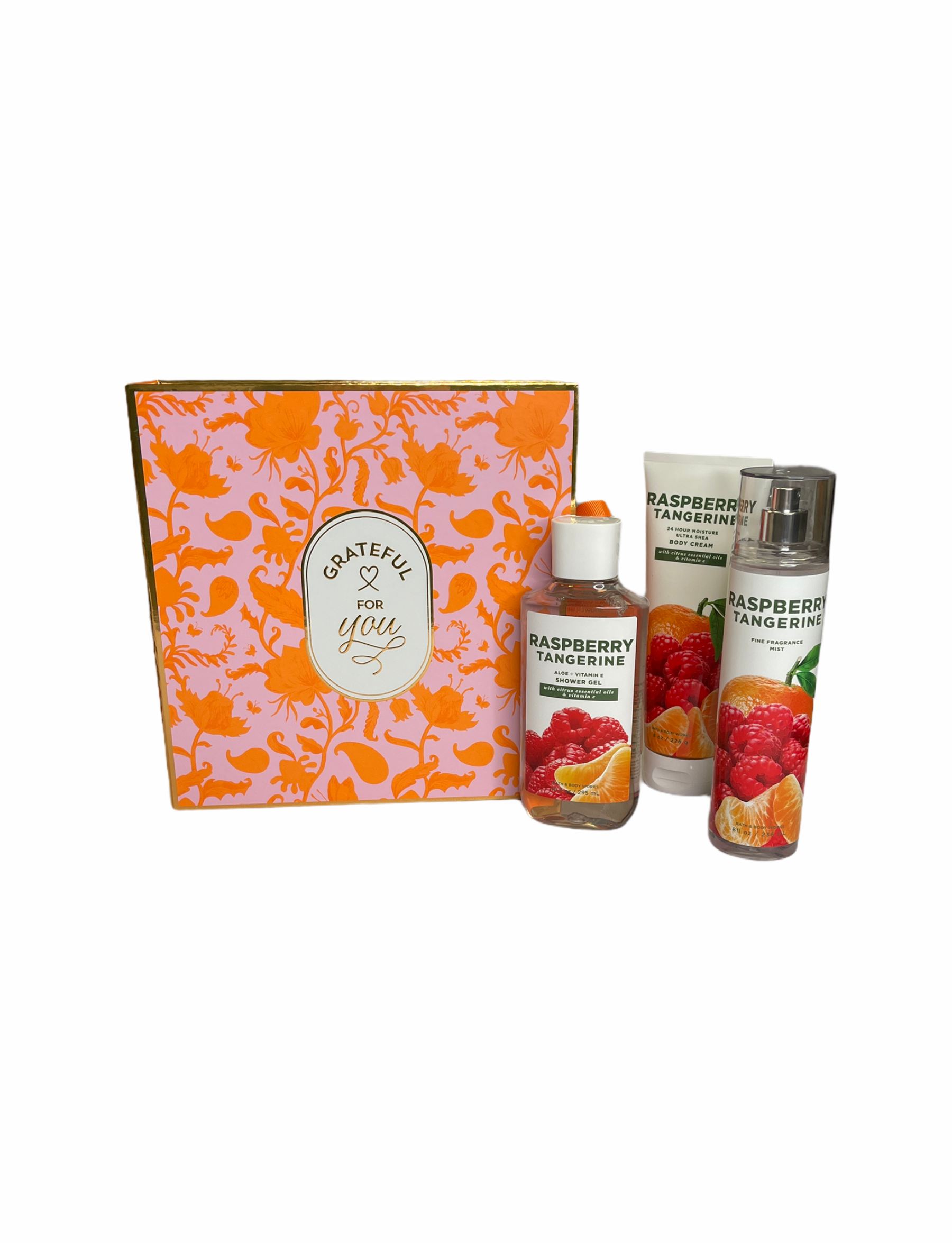 Rasberry Tangerine Gift Box Set