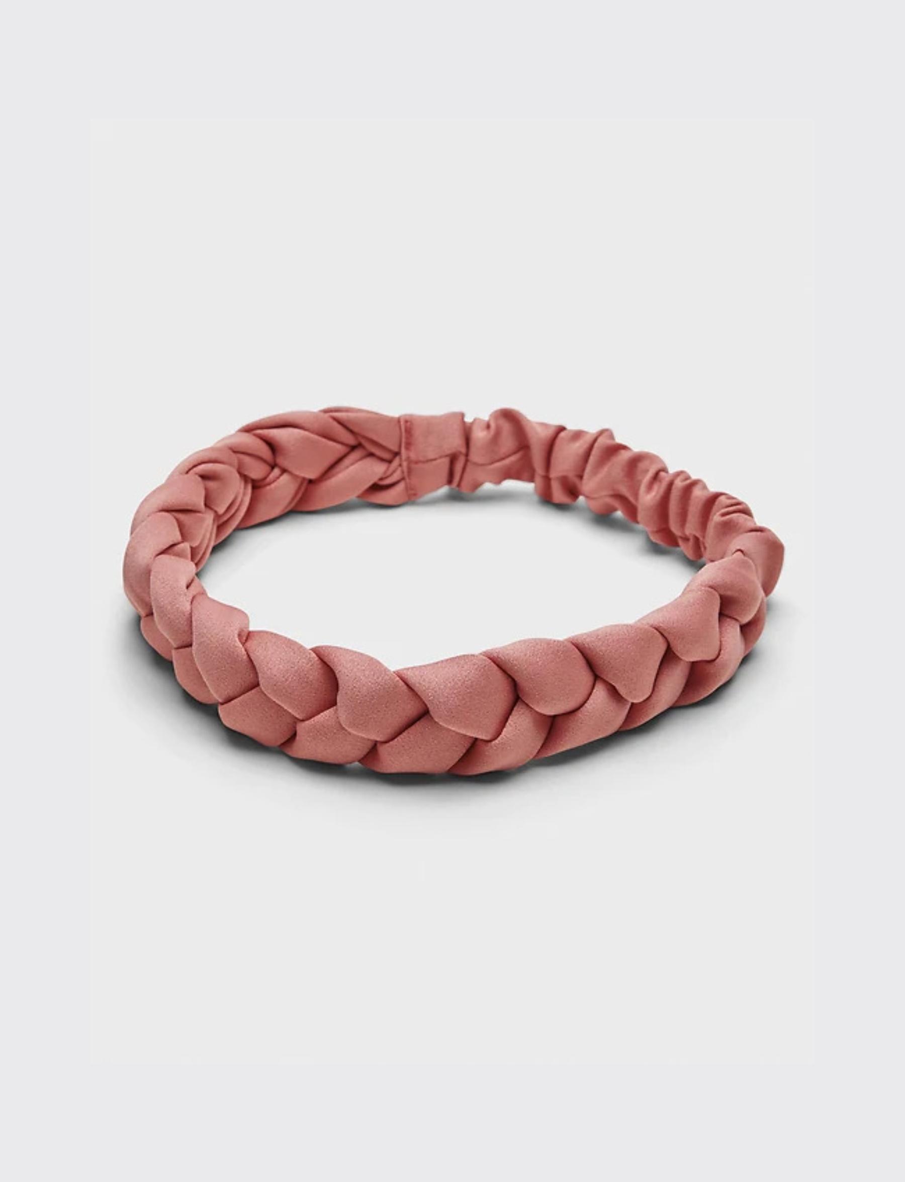 Braided Headwrap - Coral