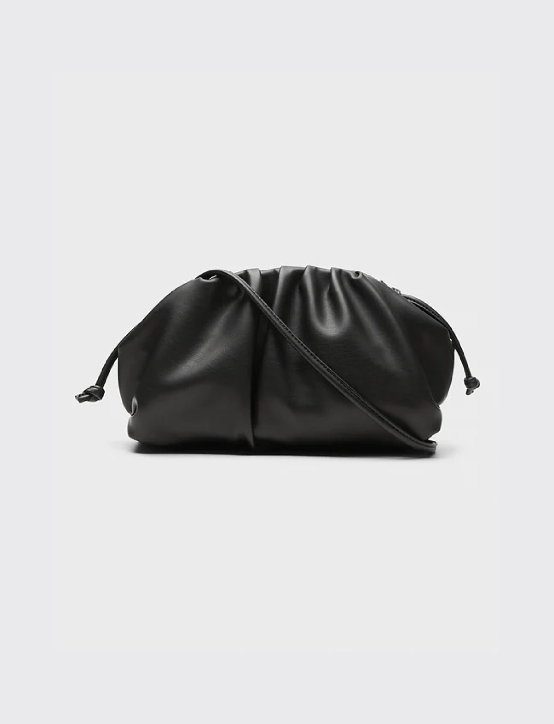 Soft Pouch Crossbody - Black