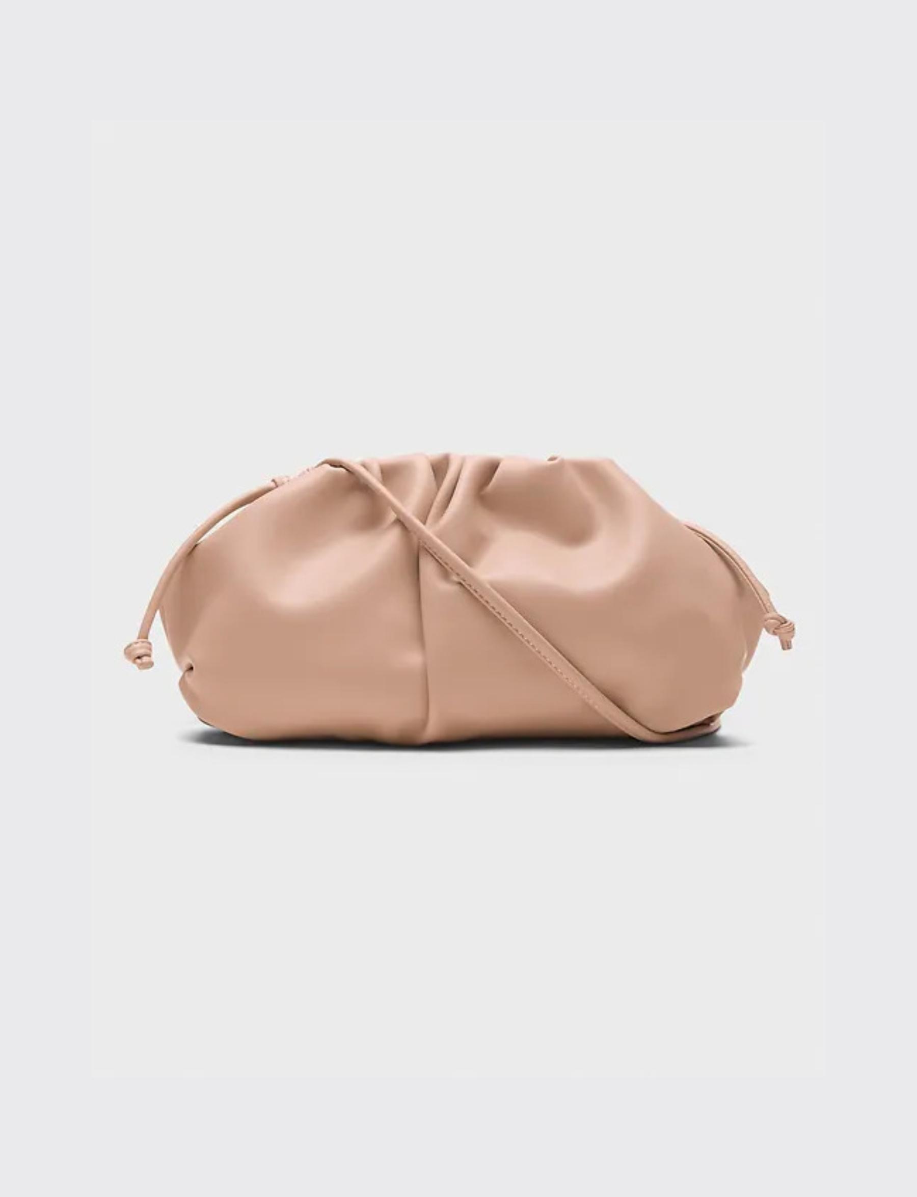 Soft Pouch Crossbody - Blush